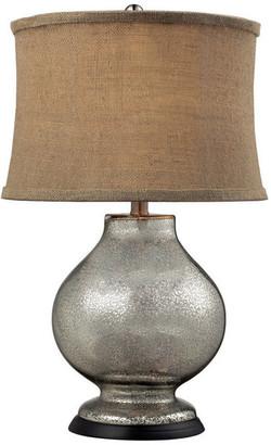 "Dimond Lighting 24"" Stonebrook Antique Mercury Glass Table Lamp"