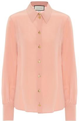 Gucci Silk crepe de chine blouse