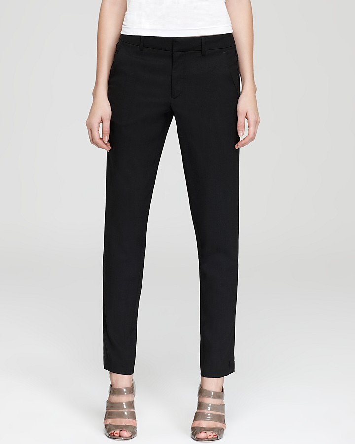 Vince Pants - Tropical Wool Strapping