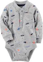Carter's Boy Grey Dog Bodysuit