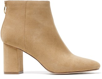 Forever New Reign Flared Heel Boots - Taupe - 37