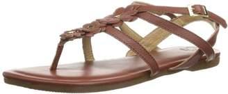 Flip*Flop Womens Flor Sandals Brown Braun (Choco 806) Size: