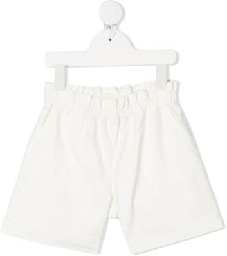 Bonpoint Paperbag-Waist Shorts