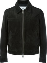 Ami Alexandre Mattiussi zipped jacket - men - Leather - S