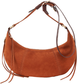 Hobo Orion Suede Shoulder Bag