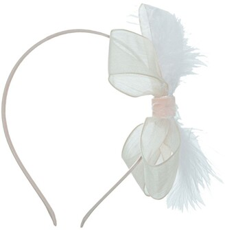 Patachou Bow Feather Headband