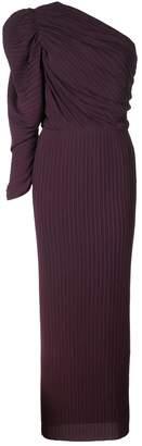 SOLACE London Rosalyn pleated midi dress
