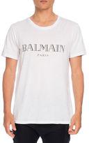 Balmain Jersey Logo T-Shirt
