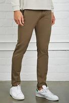 Forever 21 Slim Fit Cotton-Blend Pants
