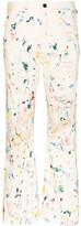 Simon Miller Miller Bell paint splattered-effect jeans