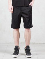 Roen Leopard Side Tapered Shorts
