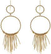 Aurelie Bidermann Maria gold-plated earrings