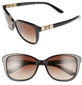 Versace Women's 57Mm Sunglasses - Black