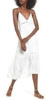 Lush Women's Print Midi Dress