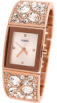 GUESS GUESS? Women's U0002L4 Rose-Gold Stainless-Steel Quartz Watch with Dial