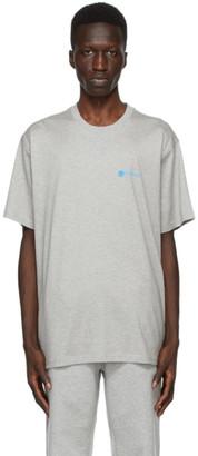 Burberry Grey Aaron Logo T-Shirt