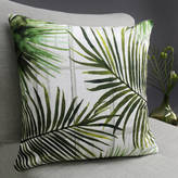 Terrarium Designs Tropical Fronds Botanical Cushion