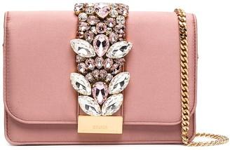 Gedebe Crystal-Embellished Crossbody Bag