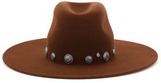 Maison Michel Eliza Stud-Embellished Hat