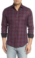 Stone Rose Men's Plaid Sport Shirt