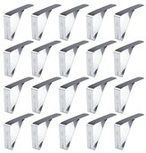 CYLAPEX Stainless Steel Tablecloth Clips, Pack of 20 Clamps