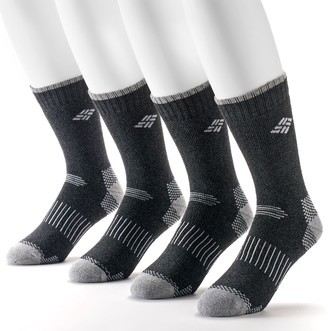 Columbia Men's 4-pack Moisture Control Crew Socks
