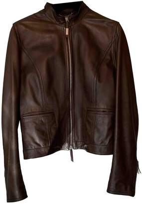 Fratelli Rossetti Brown Leather Leather jackets