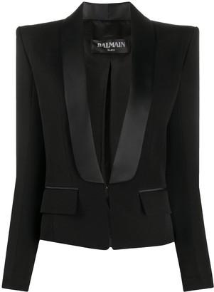Balmain Shawl Front Jacket