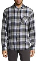 Rag & Bone Plaid Cotton Button-Down Shirt