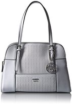GUESS Huntley Cali Satchel-White