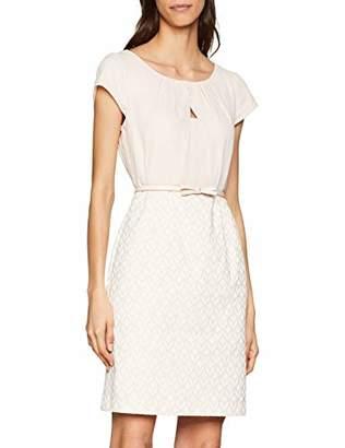 Comma Women's 8e.995.82.4995 Dress, Multicolour Jacquard r2, 12 (Size: )