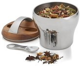 Nambe Bulbo 1 1/2 Quart Tea Canister & Scoop