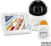 Levana astra video & oma portable baby movement monitor set