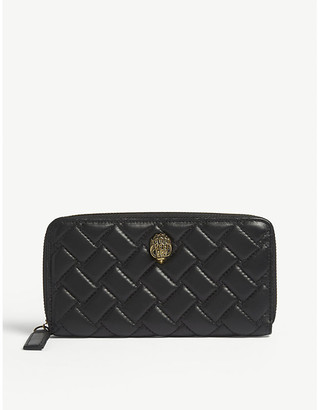 Kurt Geiger London Leather zip-around wallet