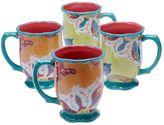 Tracy Porter Scotch Moss 4-pc. Mug Set