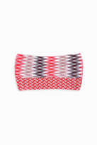 Missoni Diamond Zigzag Double Headband