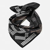 Kenzo Women's High End Icons Silk Scarf Anthracite
