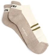 Satisfy Patchwork Tube ankle socks