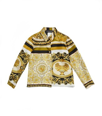 Versace Kids Baroque Print Shirt (4-14 Years)