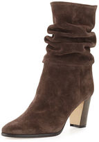 Manolo Blahnik Knight Slouchy Suede Boot