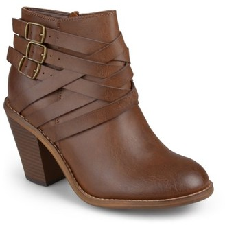 Brinley Co. Multi Strap Ankle Boot (Women's)
