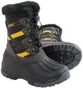 Hi-Tec Avalanche Jr. Winter Pac Boots - Waterproof, Insulated (For Little Boys)