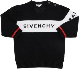 Givenchy Cotton Blend Knit Sweater