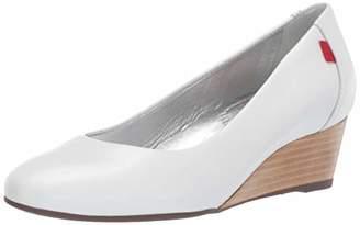 Marc Joseph New York Women's Womens Genuine Leather Made in Brazil Prospect Wedge Shoe