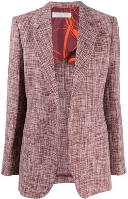 Victoria Beckham Single-Breasted Knitted Blazer