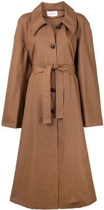 Lemaire Flared Belted Trenchcoat
