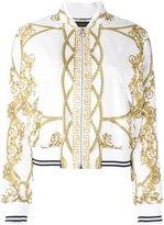 Versace La Coupe des Dieux bomber jacket - women - Silk/Cupro/Viscose - 42