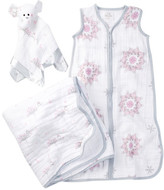 Aden Anais aden + anais Sweet Dreams Dream Blanket, Lovey & Sleeping Bag Wearable Blanket Gift Set