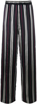 Au Jour Le Jour striped jacquard pants