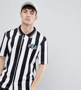 Fila Retro Referee Shirt With Stripes